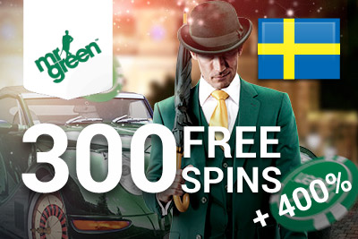 New Mr Green Casino Bonus for players from Sweden