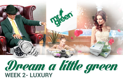 Win Luxury Items at Mr Green Mobile Casino