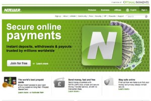 Secure & Fast Online Payments & Withdrawls with Neteller