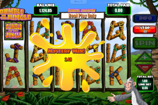 Rumble in the Jungle Mobile Slot Mystery Prize