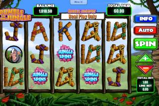 Rumble in the Jungle Mobile Slot Screenshot