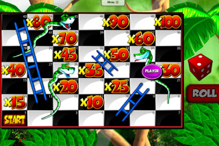 Snakes&Ladders Mobile Slot Bonus Game