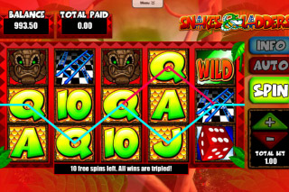 Snakes&Ladders Mobile Slot Free Spins