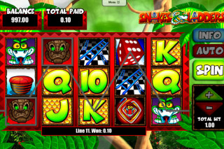 Snakes&Ladders Mobile Slot Screenshot
