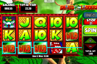 Snakes&Ladders Mobile Slot Wilds