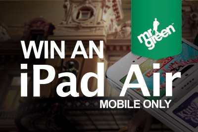 Play IGT Slots & Win an iPad Air at Mr Green Mobile Casino