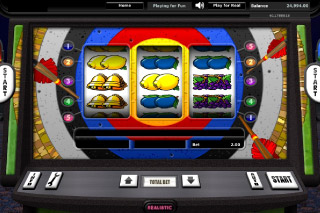 Bullseye Mobile Slot Screenshot