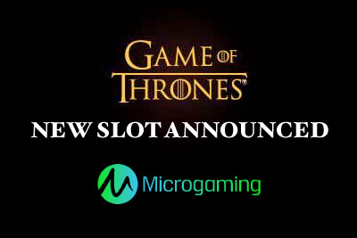 Game of Thrones Online Slot Announced by Microgaming