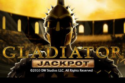 Gladiator Jackpot Mobile Slot Logo