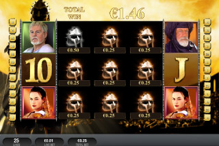 Gladiator Jackpot Mobile Slot Win