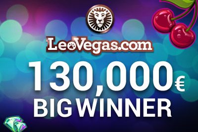 Andre Wins 130,000 at Leo Vegas Casino Playing Slots