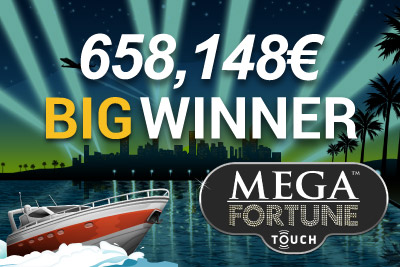 One Lucky Mega Fortune Jackpot Winner Wins 658,148€