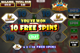 Midas Millions Mobile Slot Free Spins