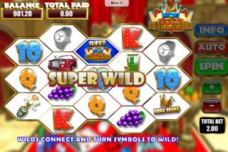 Midas Millions Mobile Slot Super Wild