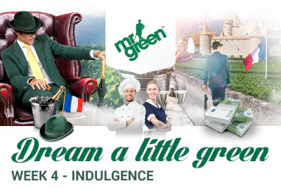 Indulge with Mr Green Mobile Casino in February