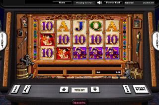 Pirate Radio Mobile Slot Screenshot