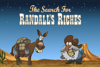 Randall's Riches Mobile Slot Logo