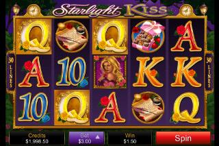 Starlight Kiss Mobile Slot Screenshot