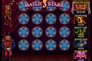 The Twisted Circus Mobile Slot Bonus Game
