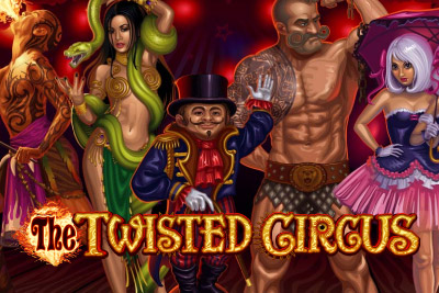 The Twisted Circus Mobile Slot Logo