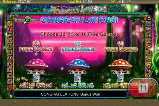 Unicorn Legend Mobile Slot Free Spins