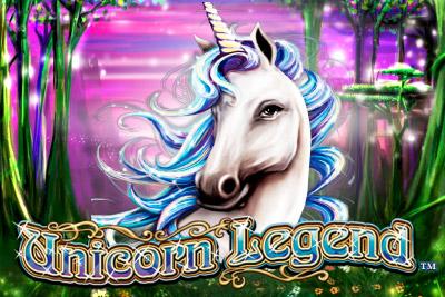 Unicorn Legend Mobile Slot Logo