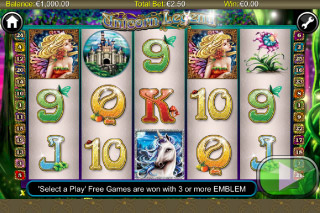 Unicorn Legend Mobile Slot Screenshot