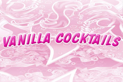 Vanilla Cocktails Mobile Slot Logo