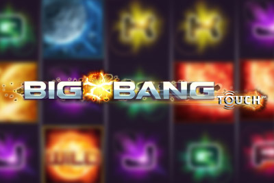 Big Bang Touch Mobile Slot Logo