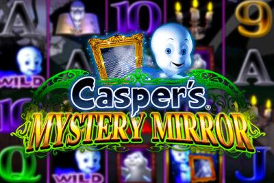 Casper's Mystery Mirror Mobile Slot Logo