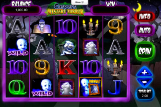 Casper's Mystery Mirror Mobile Slot Screenshot
