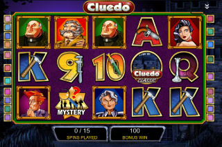 Cluedo Classic Mobile Slot Free Spins Round