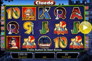 Cluedo Classic Mobile Slot Screenshot