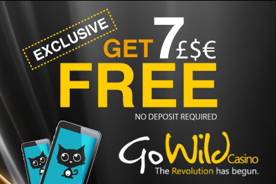 Exclusive Mobile Casino Bonus 7 Free No Deposit At Go Wild Casino