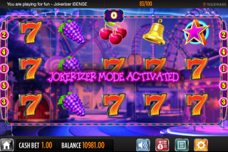Jokerizer Mobile Slot Jokerizer Mode