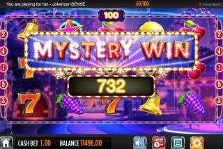 Jokerizer Mobile Slot Mystery Win