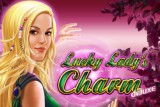 Lady Lucky's Charm Mobile Slot Logo