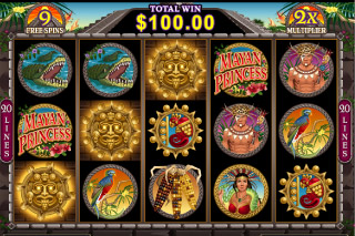 Mayan Princess Mobile Slot Free Spins