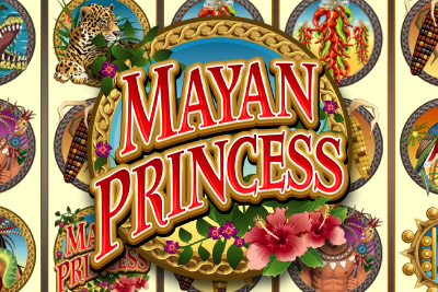 Mayan Princess Mobile Slot Logo