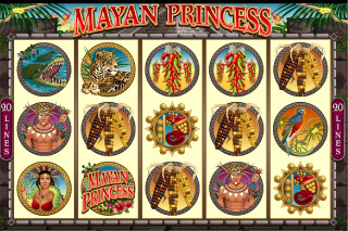 Mayan Princess Mobile Slot Screenshot