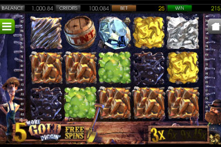 More Gold Diggin' Mobile Slot Free Spins