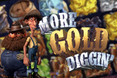 More Gold Diggin' Mobile Slot Logo