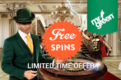Get Daily Free Spins at Mr Green Casino For A Limited Time Only