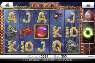 Mythic Maiden Touch Slot Screenshot