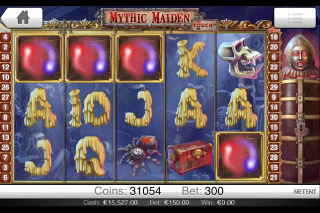 Mythic Maiden Touch Slot Win