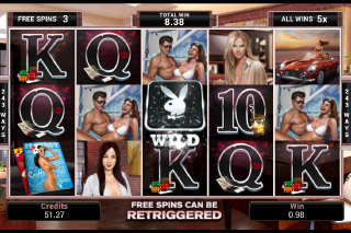 Playboy Mobile Slot Free Spins Round