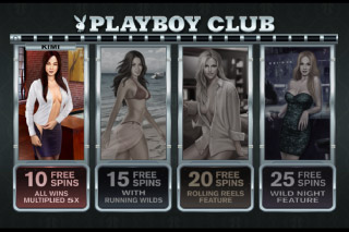 Playboy Mobile Slot Playboy Club Bonus