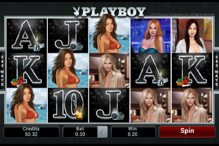 Playboy Mobile Slot Screenshot