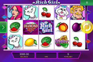 She's A Rich Girl Mobile Slot Screenshot