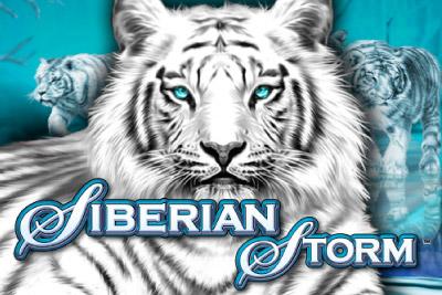 Siberian Storm Mobile Slot Logo